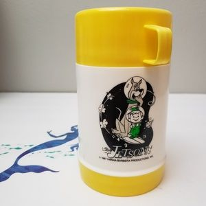 80s Vintage  Elroy Jetson and Astro Thermos